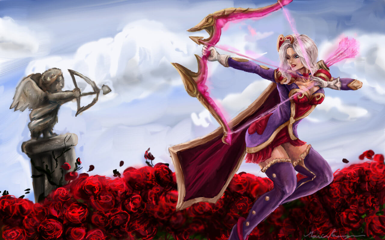 heartseeker ashe art