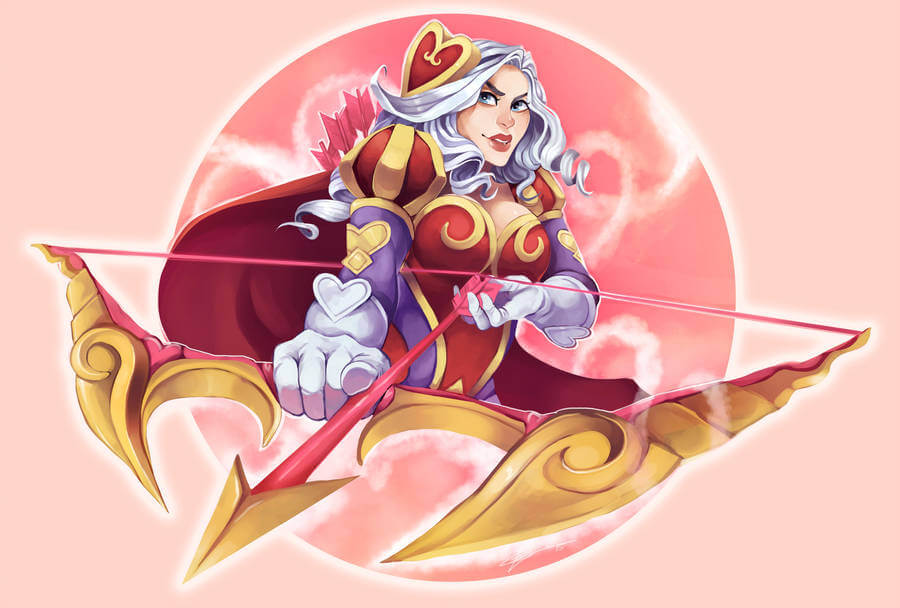 heartseeker ashe looking fabulous