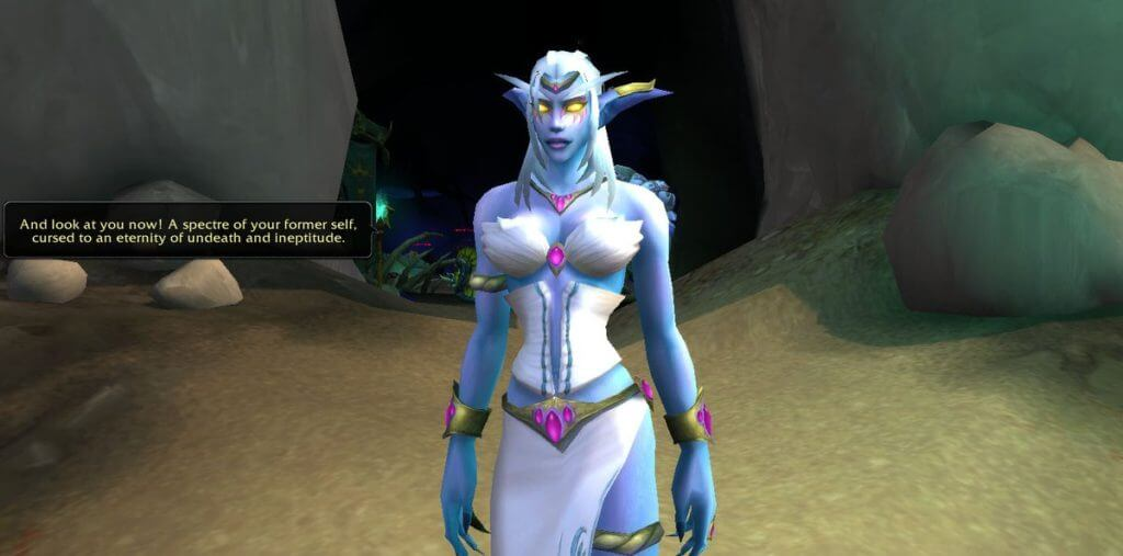 queen azshara looking angry