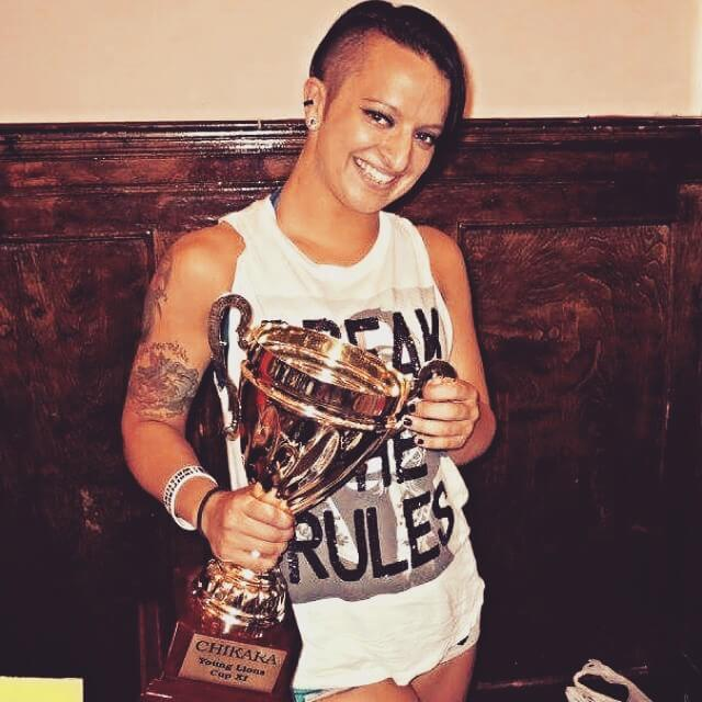 ruby riot with award