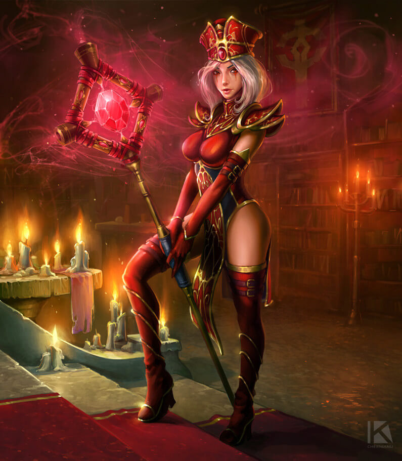 sally whitemane awesome look