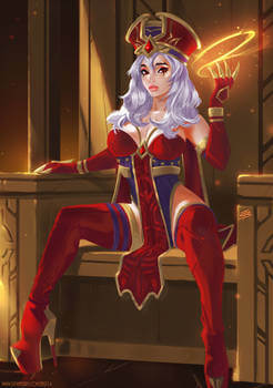 sally whitemane cleavage