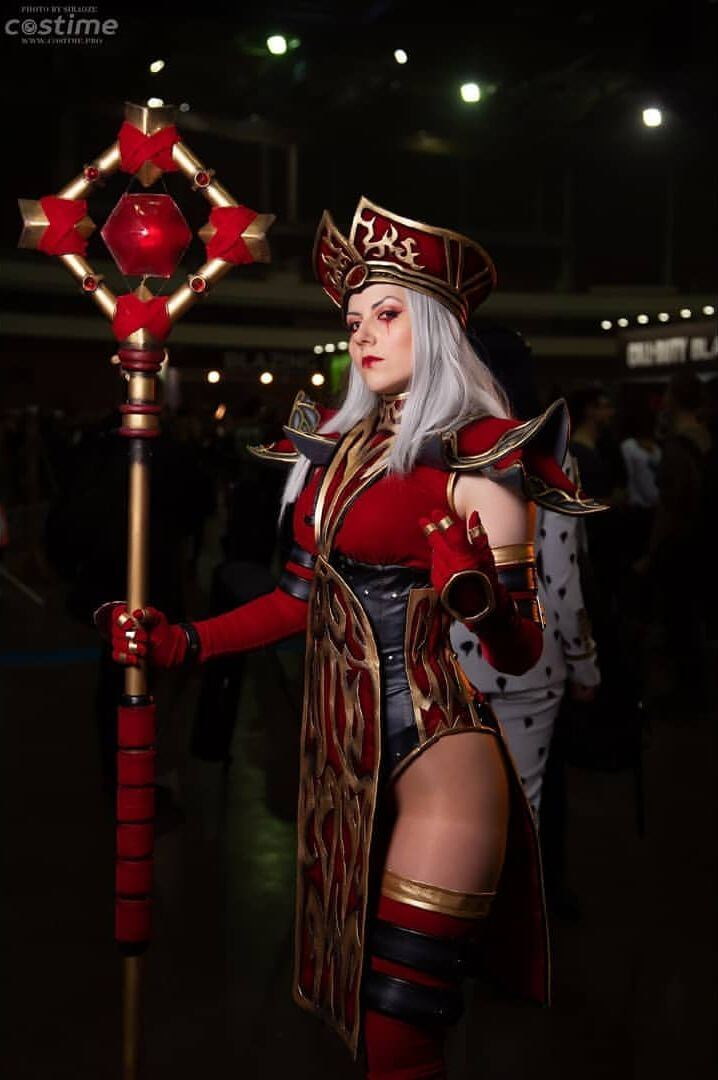 sally whitemane cosplay
