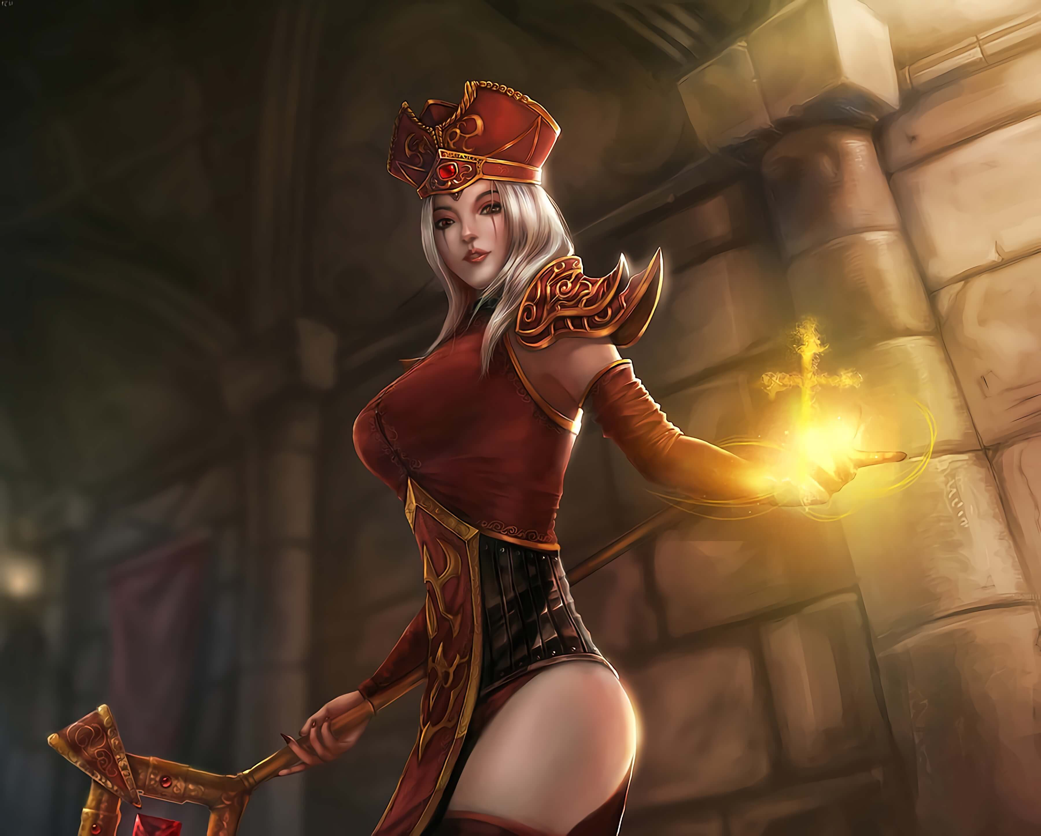 sally whitemane good looking