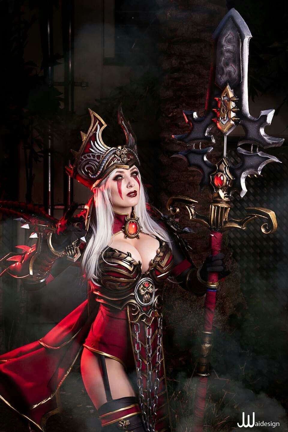 sally whitemane hot cosplay