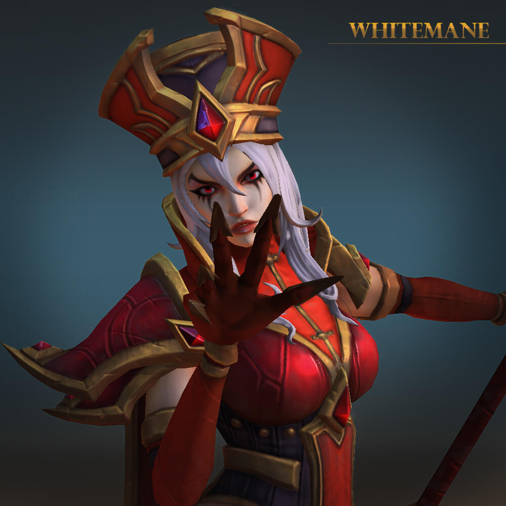 sally whitemane looking fabulous