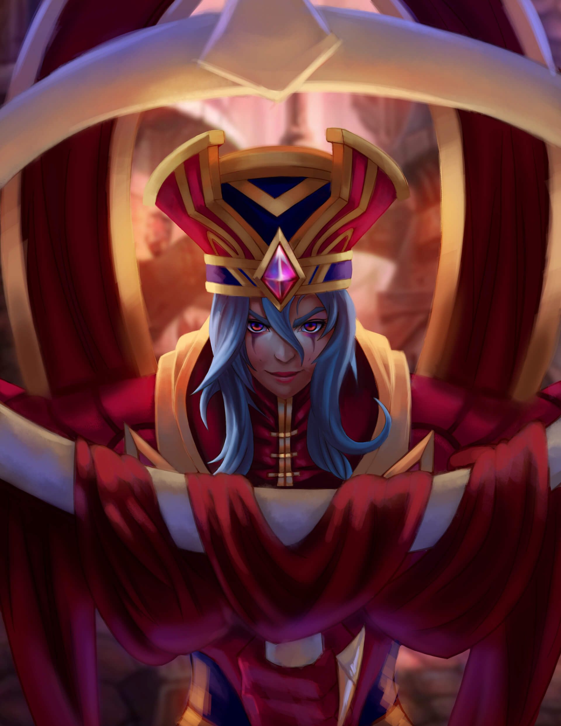 sally whitemane looking good
