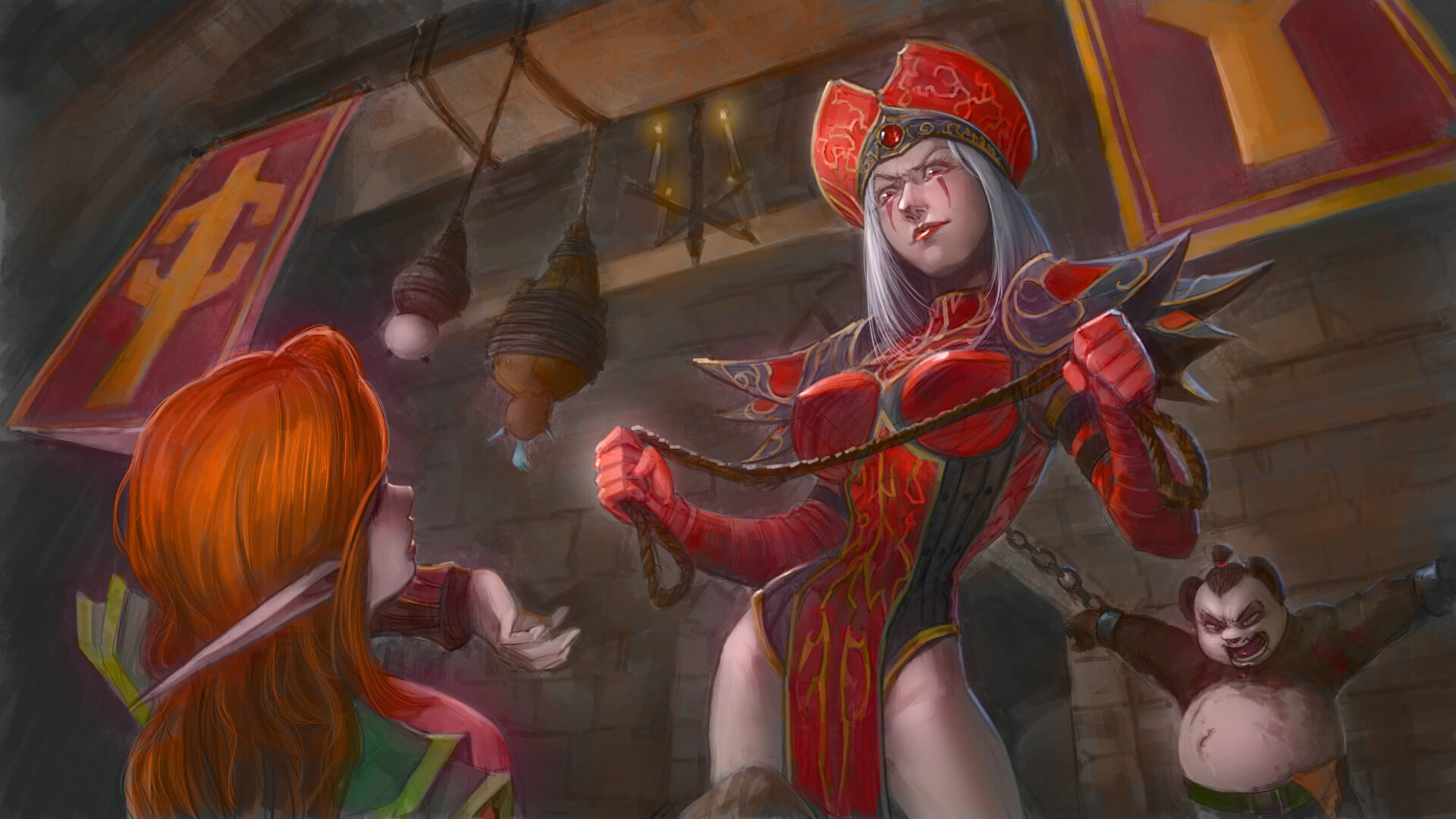 sally whitemane nice art