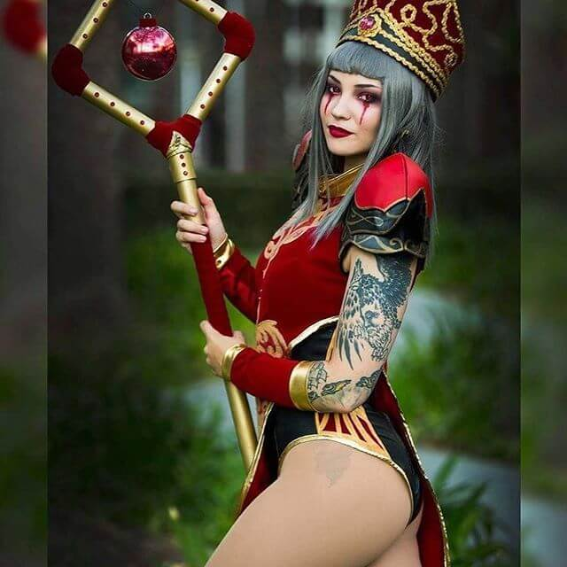sally whitemane sexy ass
