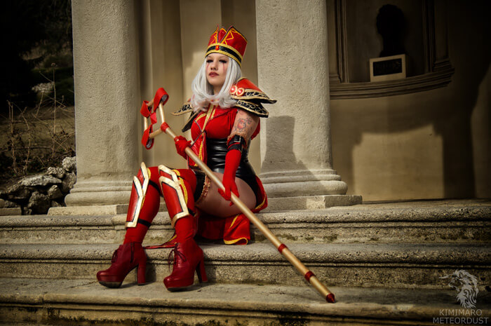 sally whitemane stunning