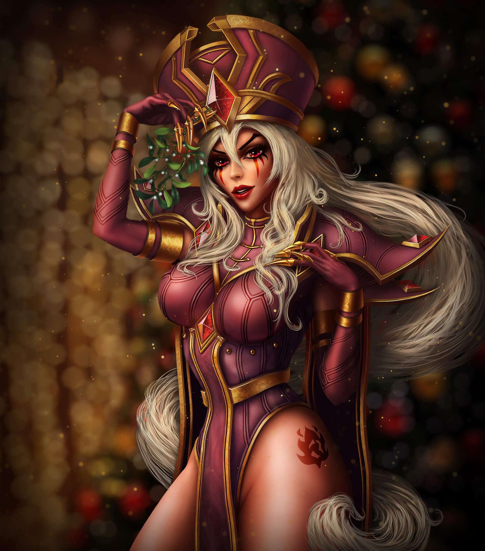 sally whitemane too hot