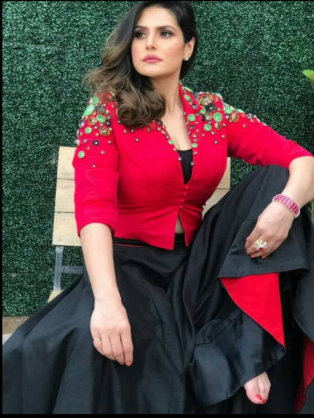 zareen khan sexy busty picture