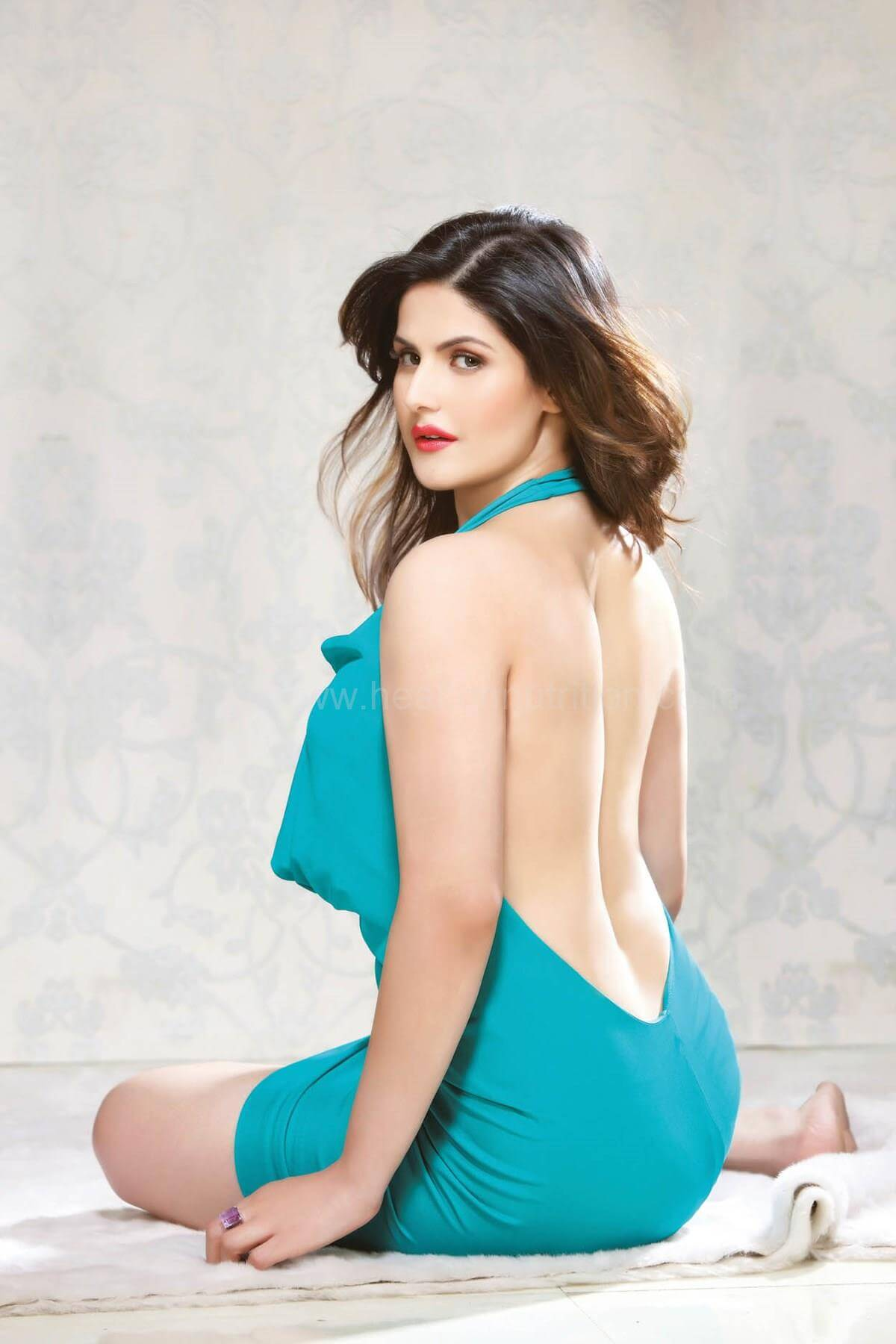 zareen khan sexy cleavages