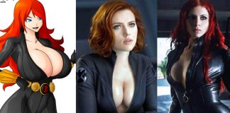49 Hot Pictures Of Black Widow From The Witcher Series Which Will Make You Fall In Love With Her Sexy Body