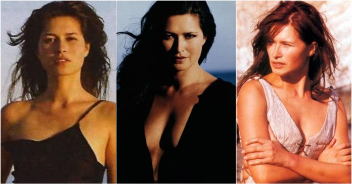 49 Hot Pictures Of Karina Lombard Which Expose Her Sexy Hour-glass Figure