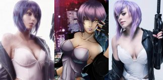 49 Hot Pictures Of Major Motoko Kusanagi From Ghost In The Shell Show That Her Body Is A Sexy Art