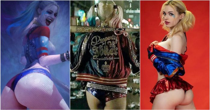 49 Hottest Harley Quinn Big Butt Pictures Are Heaven On Earth