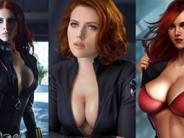 49 Sexy Black Widow Boobs Pictures Are Too Damn Appealing