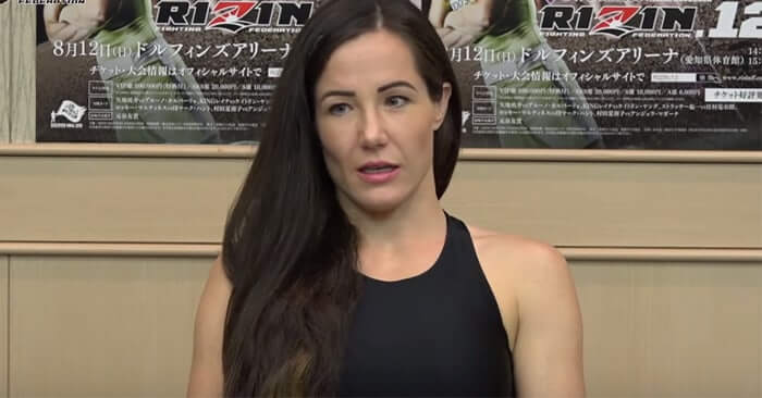 Angela Magana sexy black dress