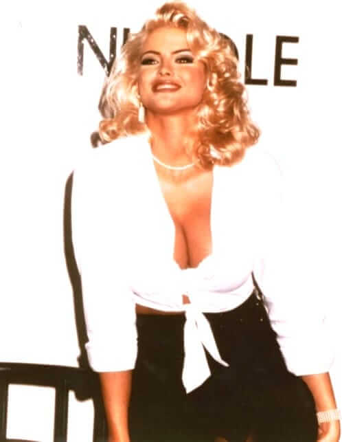 Anna Nicole Smith hot photo