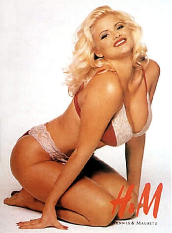 Anna Nicole Smith sexy pictures