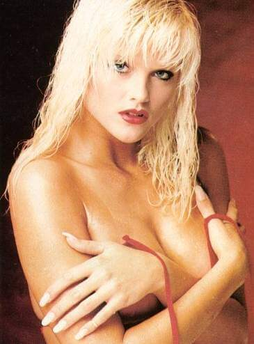 Anna Nicole Smith topless