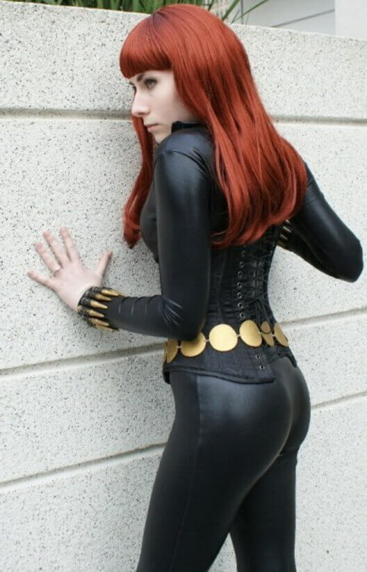 Black Widow hot ass