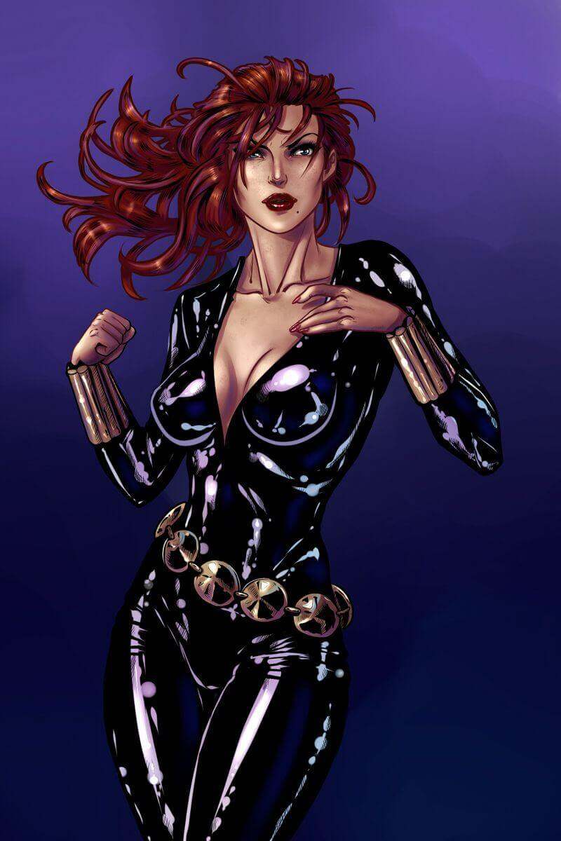 Black Widow hot look (2)