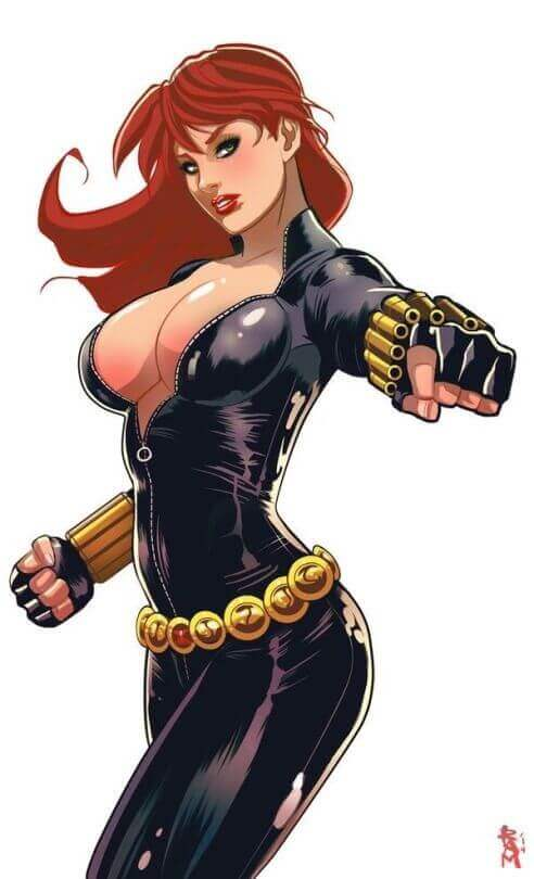 Black Widow hot pic