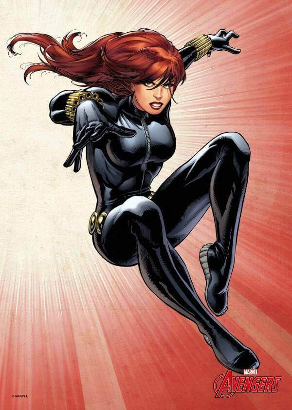 Black Widow hot picture