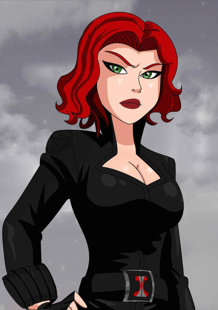 Black Widow hot