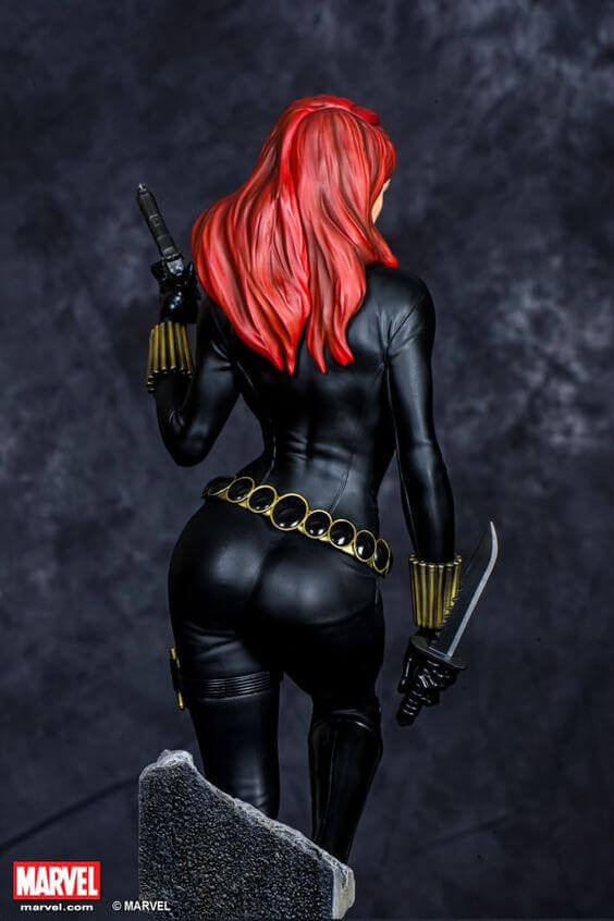 Black Widow sexy butt pic