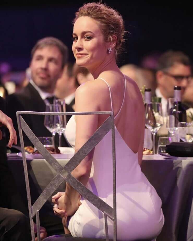 Brie Larson sexy ass pic