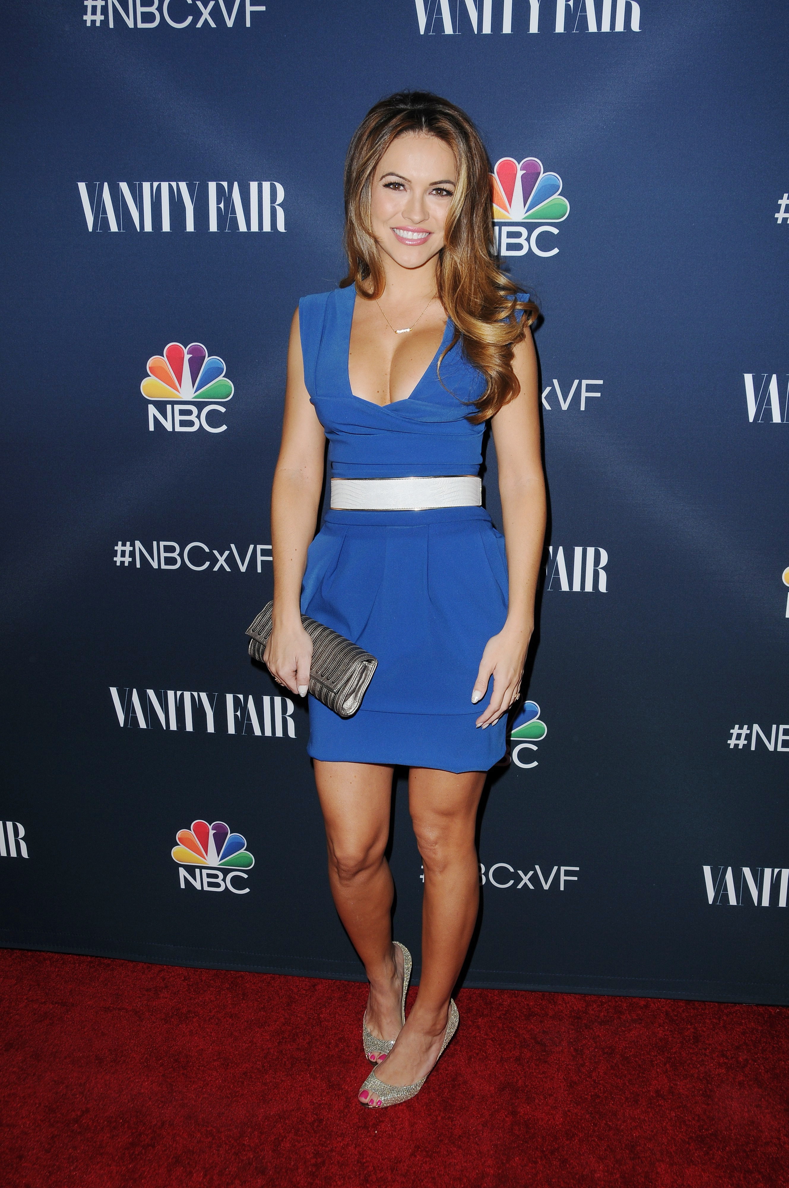 Chrishell Stause Hot in Blue