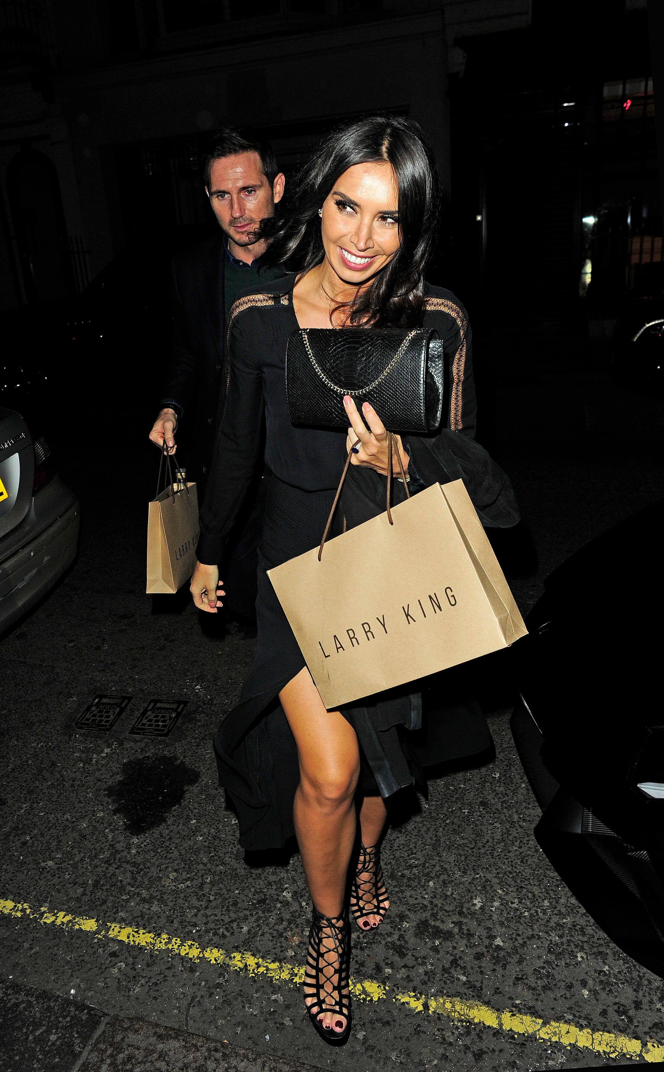 Christine Lampard thighs