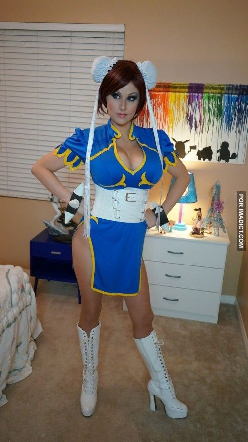 Chun Li Hot Photoshoot