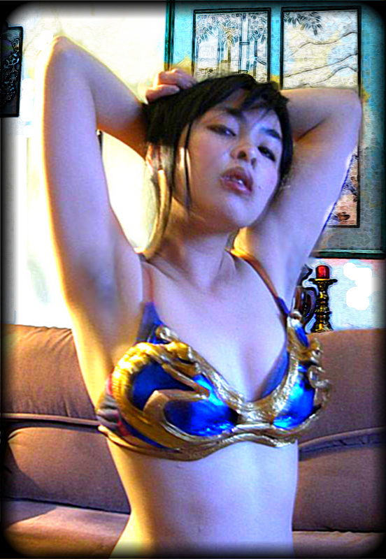 Chun Li Hot in Lingerie Pics