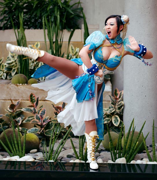 Chun Li Sexy Boobs