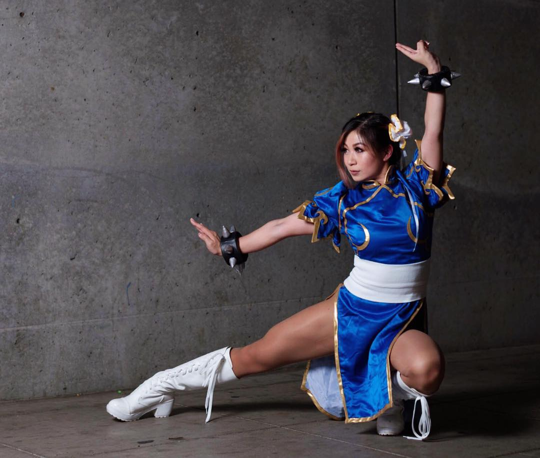 Chun Li on Photoshoot