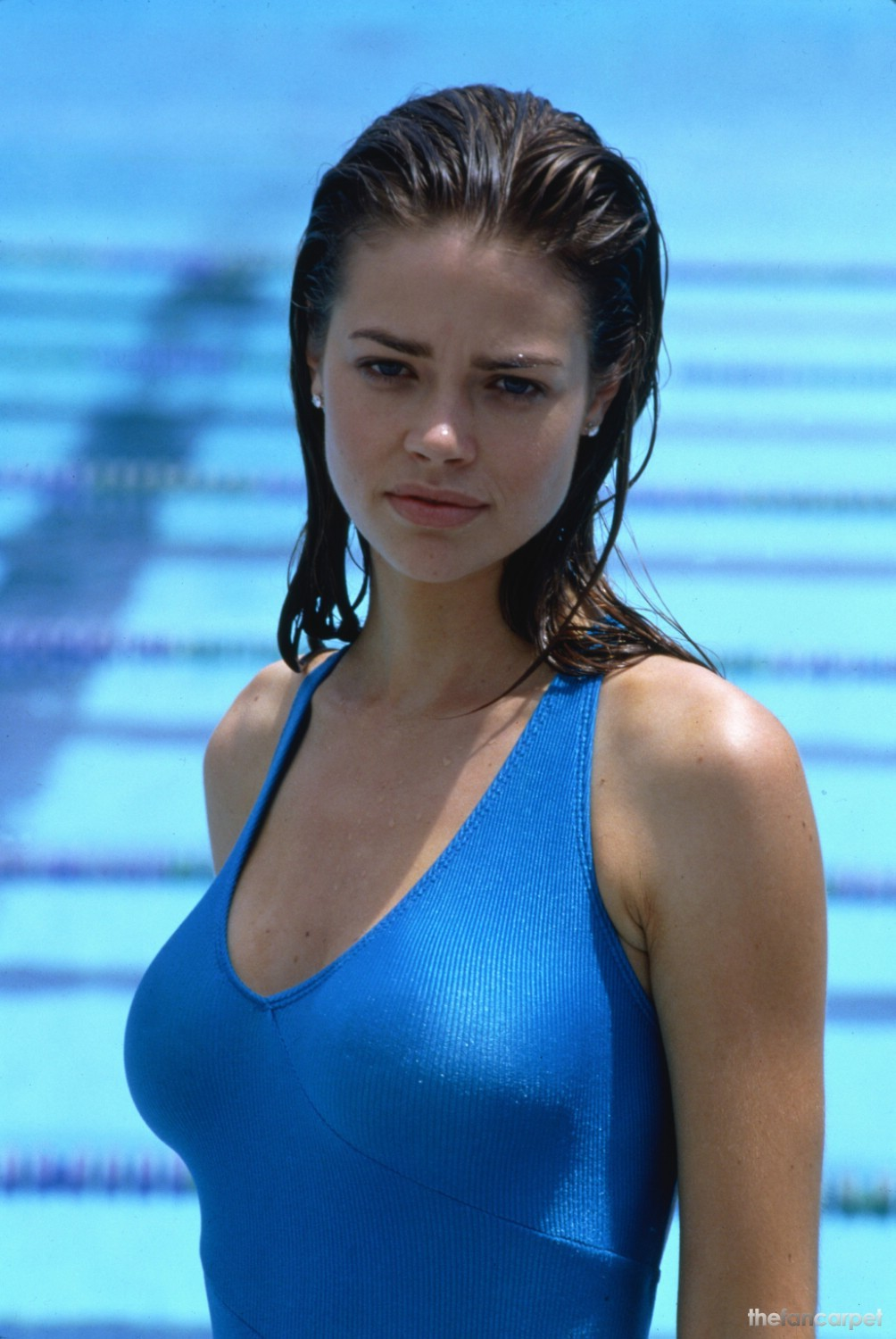 Denise richards Hot on Swimming Costume