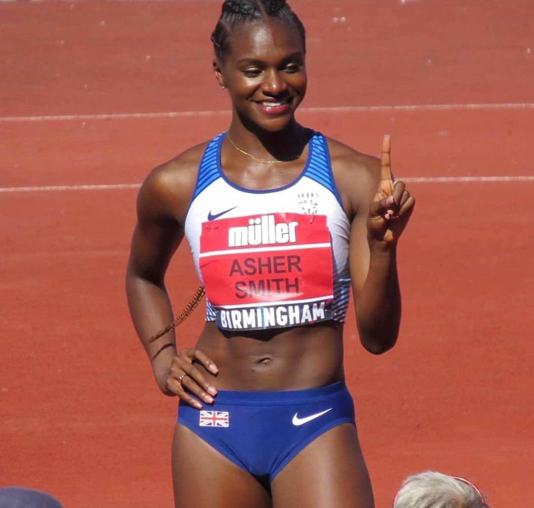 Dina Asher-Smith hot cleavages picture