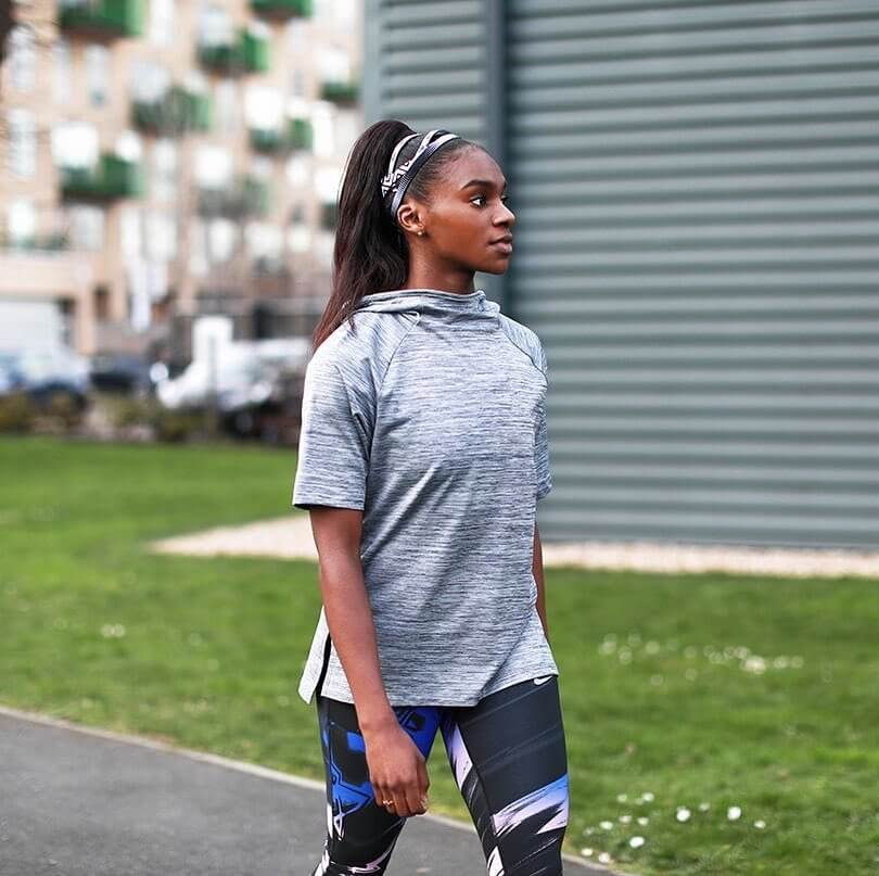 Dina Asher-Smith sexy side pcitures