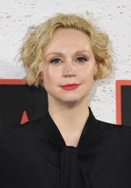 Gwendoline Christie REd Lips
