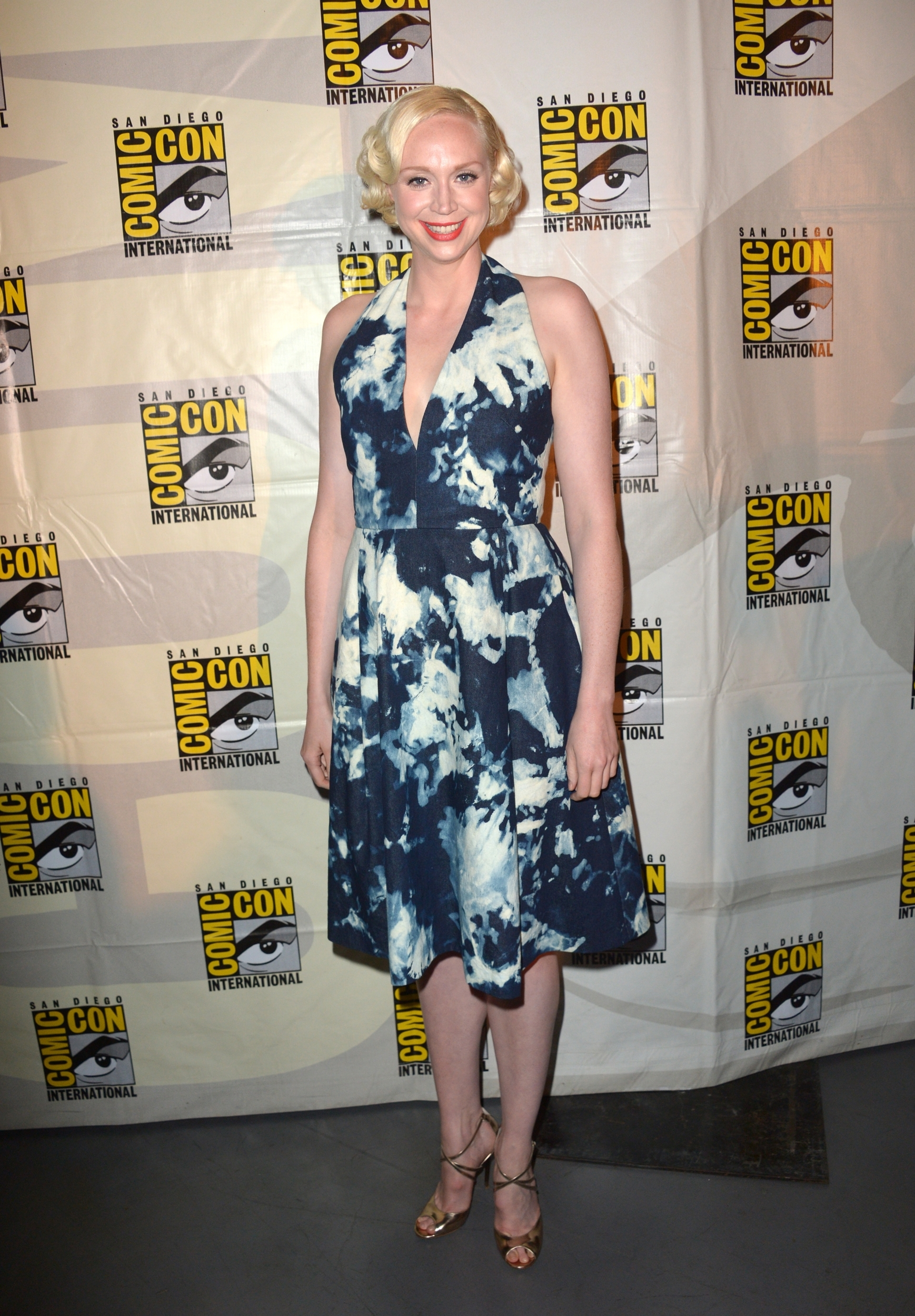 Gwendoline Christie on Comic Con