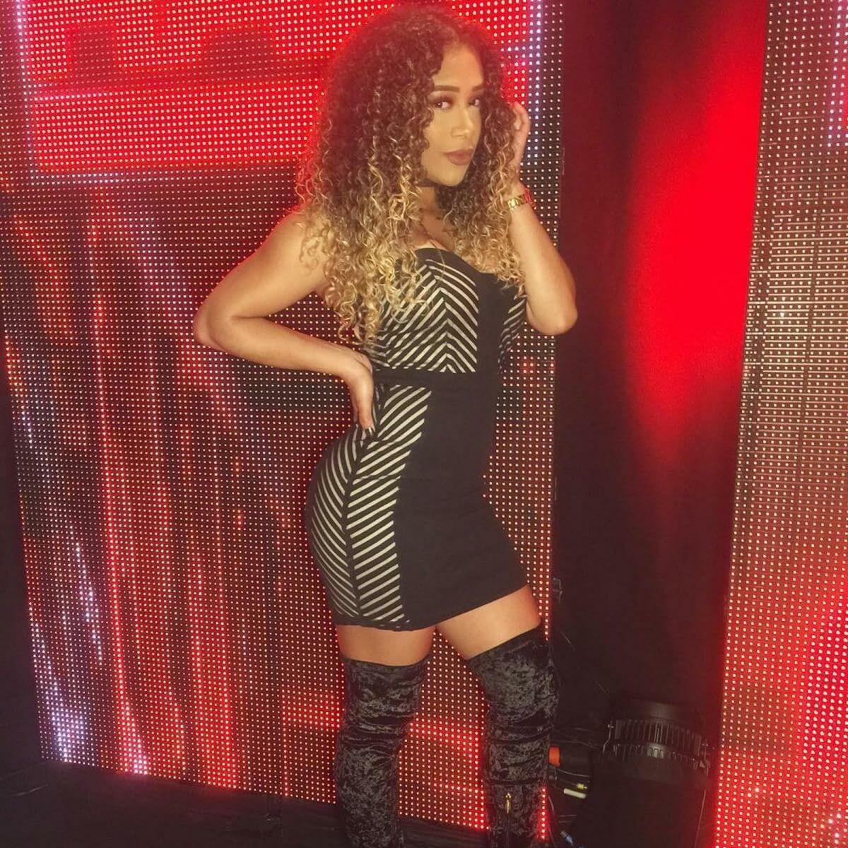 JoJo Offerman tite dress