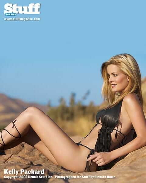 Sexy nude kelly packard