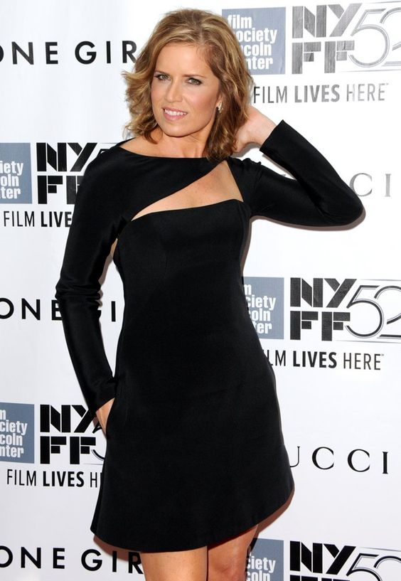 Kim Dickens Hot in Short Dress