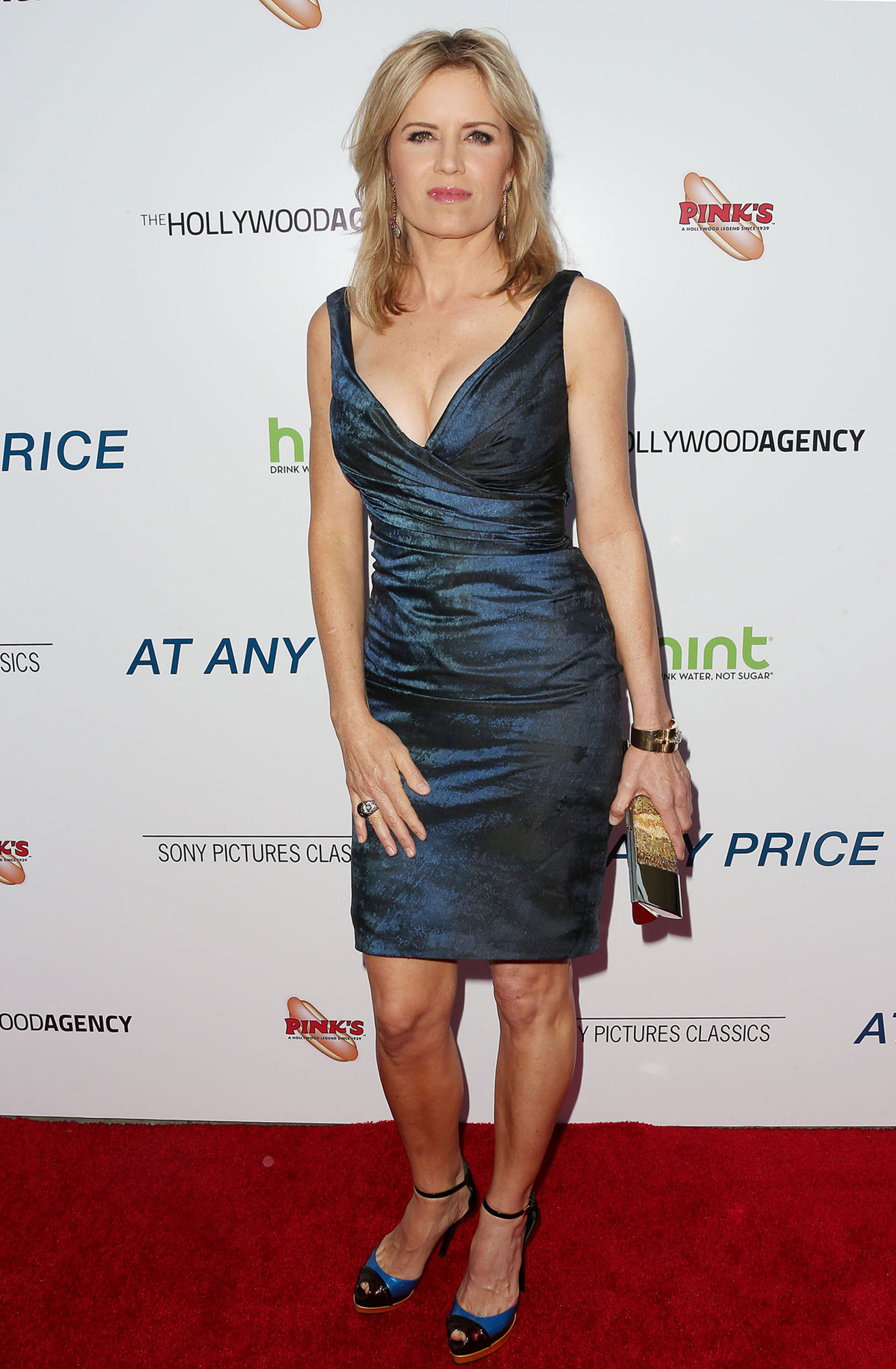 Kim Dickens Hot in Black Dress