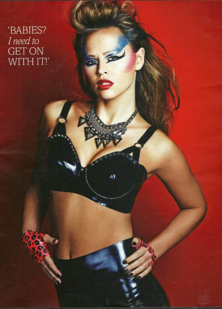Kimberley Walsh hot look