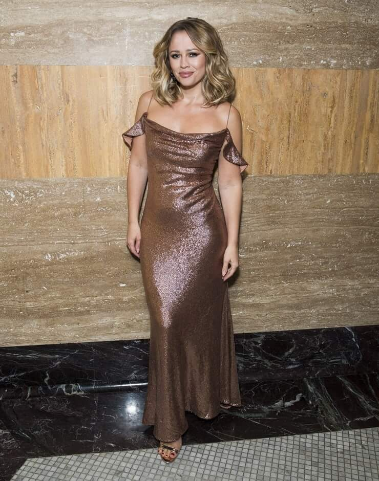 Kimberley Walsh long dress pic (2)